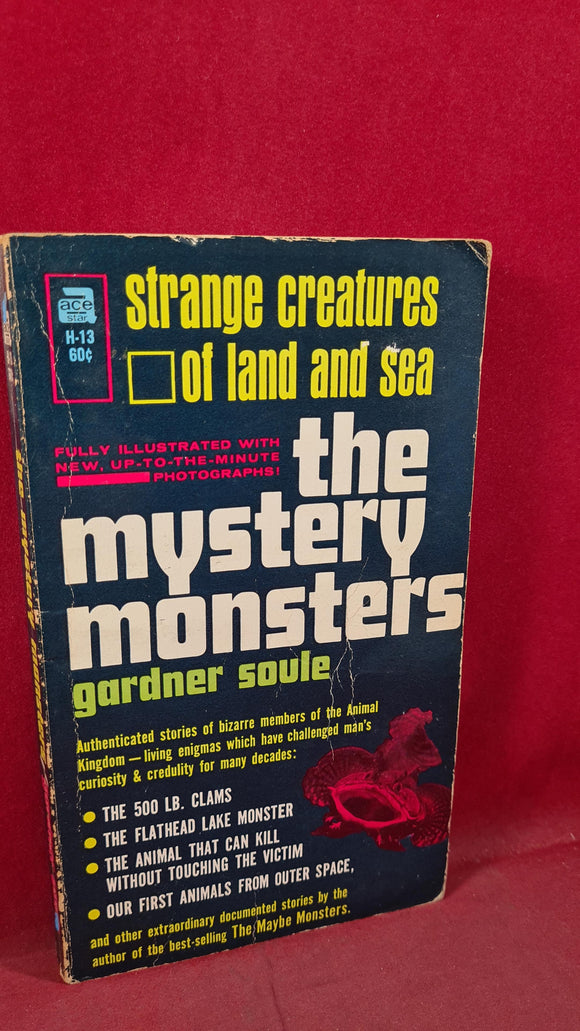 Gardner Soule - The Mystery Monsters, Ace Books, 1965, Paperbacks