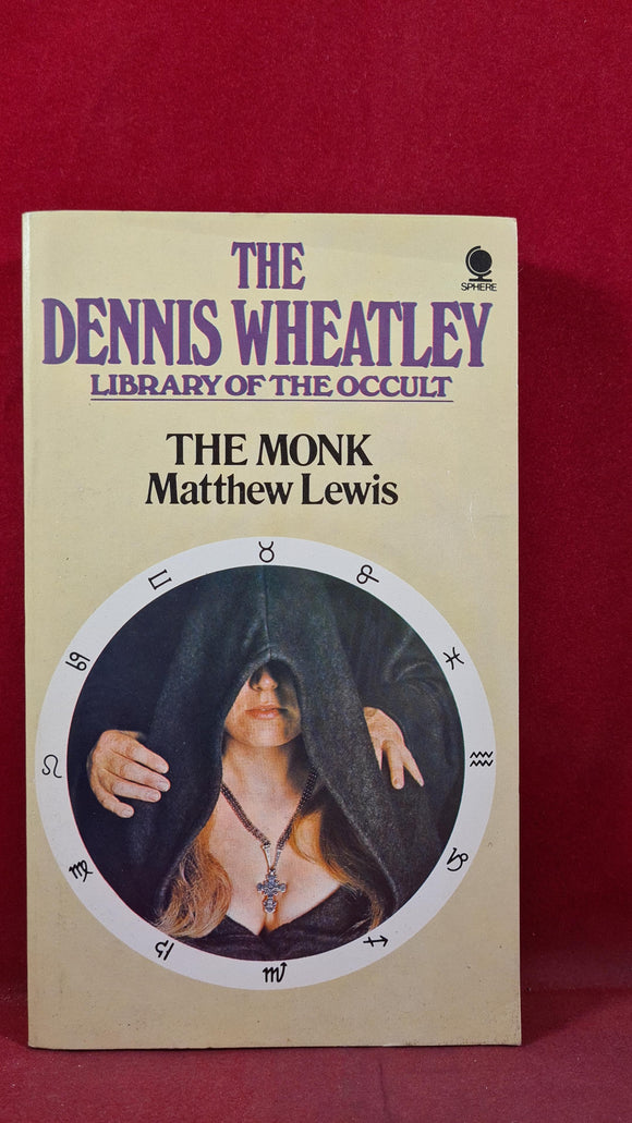 Matthew Lewis - The Monk, Sphere Books, 1974, Paperbacks, Dennis Wheatley Occult
