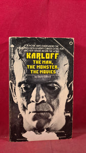 Denis Gifford - Karloff The Man, The Monster, The Movies, Curtis Books, 1973, Paperbacks