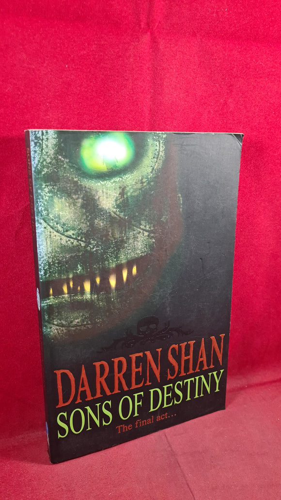 Darren Shan - Sons of Destiny, HarperCollins, 2004, Paperbacks