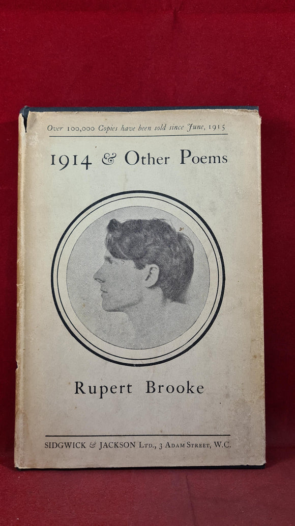 Rupert Brooke - 1914 & other Poems, Sidgwick & Jackson, 1924