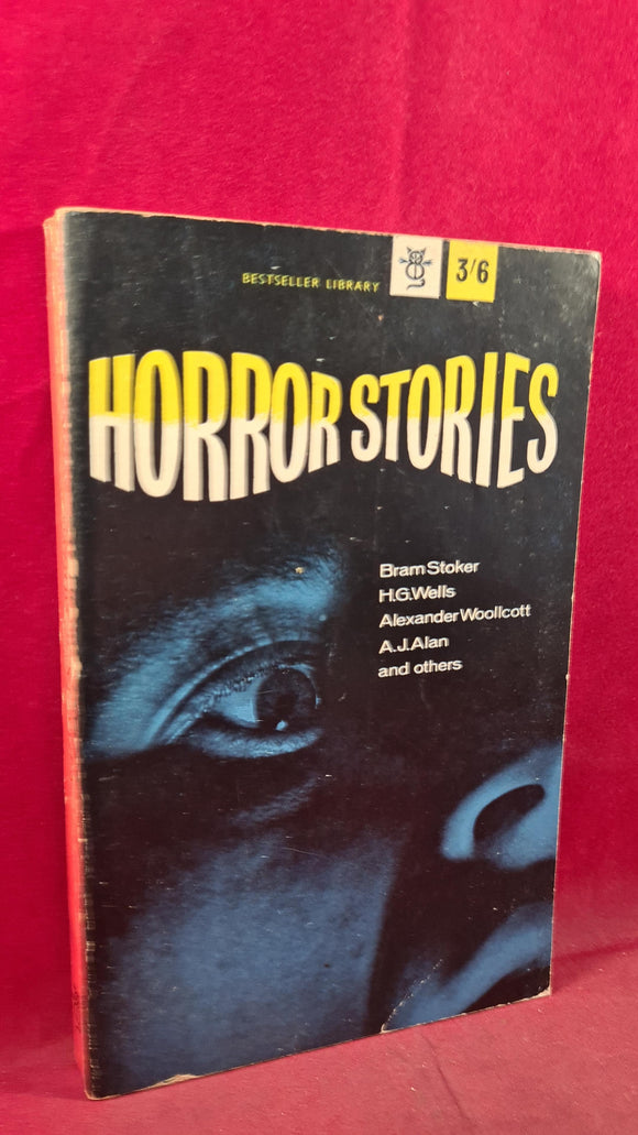 Alexander Woollcott - Horror Stories, Bestseller Library, 1961, First Edition, Paperbacks