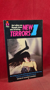 Ramsey Campbell - New Terrors 1, Pan Books, 1980, First Edition, Paperbacks