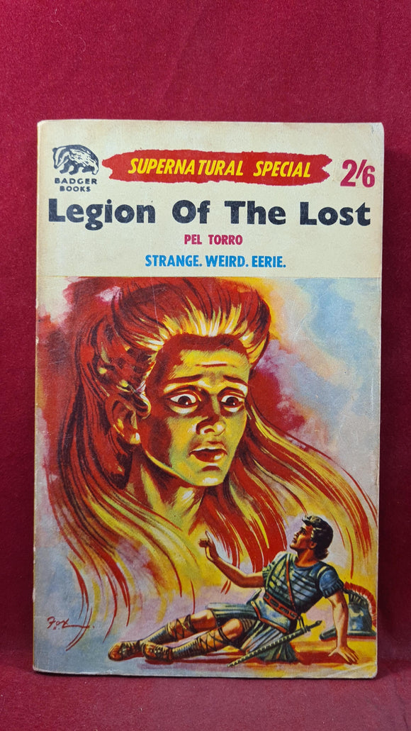 Supernatural Stories Special, Pel Torro - Legion of The Lost, Badger Books, Paperbacks