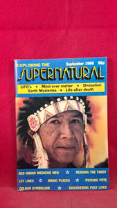 Exploring The Supernatural Volume 1 Issue 2 September 1986