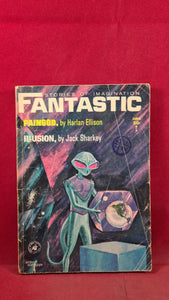 Fantastic Stories of Imagination, Volume 13 Number 6 June 1964, Harlan Ellison