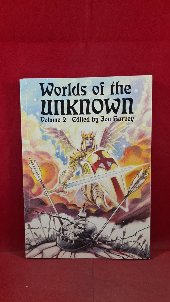 Jon Harvey - Worlds of the Unknown Volume 2, First GB Spectre Press, 2015