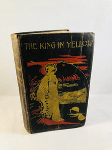 Robert W. Chambers - The King in Yellow, Chatto & Windus, London 1895