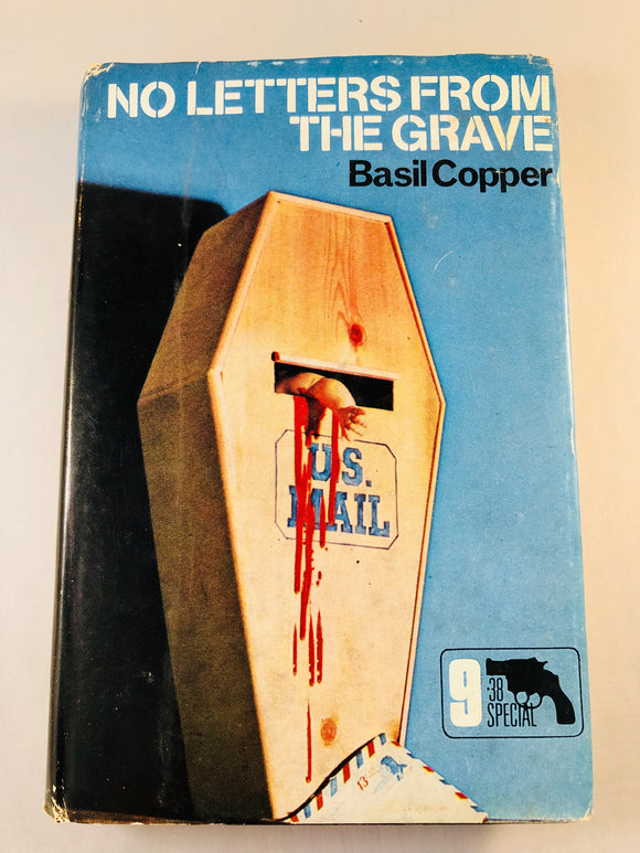 Basil Copper - No Letters From the Grave (9), Robert Hale 1971, 1st Edition, Inscribed