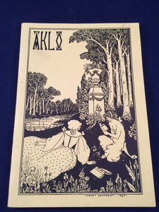AKLO A Journal of the Fantastic, Winter 1990-1991 - Caerman Books, Edited by Mark Valentine and Roger Dobson