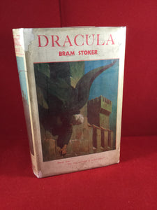 Bram Stoker - Dracula, Rider & Co, Nineteenth Edition, 1931 with Dust Jacket