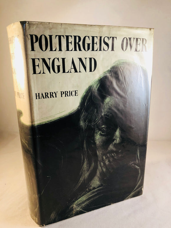 Harry Price - Poltergeist Over England, Country Life London 1945, 1st Edition, Newspaper Articles Included
