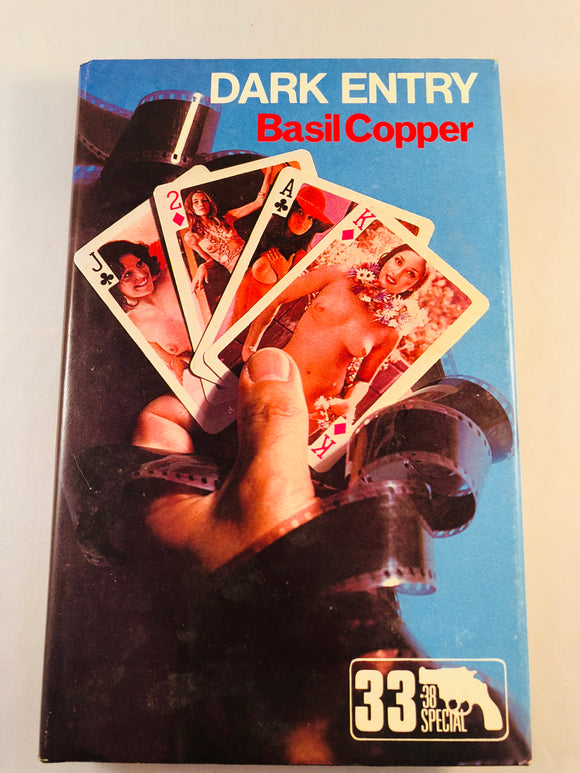 Basil Copper - Dark Entry (33), Robert Hale 1981, 1st Edition, Inscribed & Signed