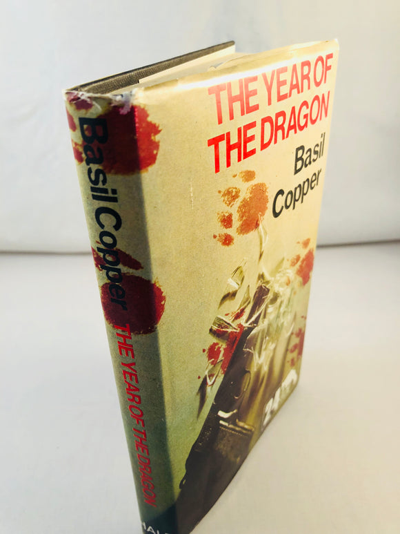 Basil Copper - The Year of the Dragon (24), Robert Hale 1977, 1st Edition, Inscribed