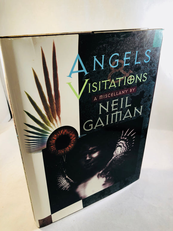 Neil Gaiman - Angels Visitations a miscellany, Dreamhaven, 1993, Signed by author