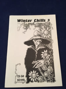 Winter Chills 3 - The British Fantasy Society 1989, Peter Coleborn