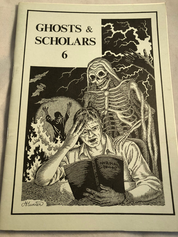 Ghosts & Scholars - Haunted Library, Rosemary Pardoe 1984, Issue 6