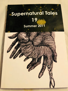 Supernatural Tales 19, Summer 2011 - David Longhorn