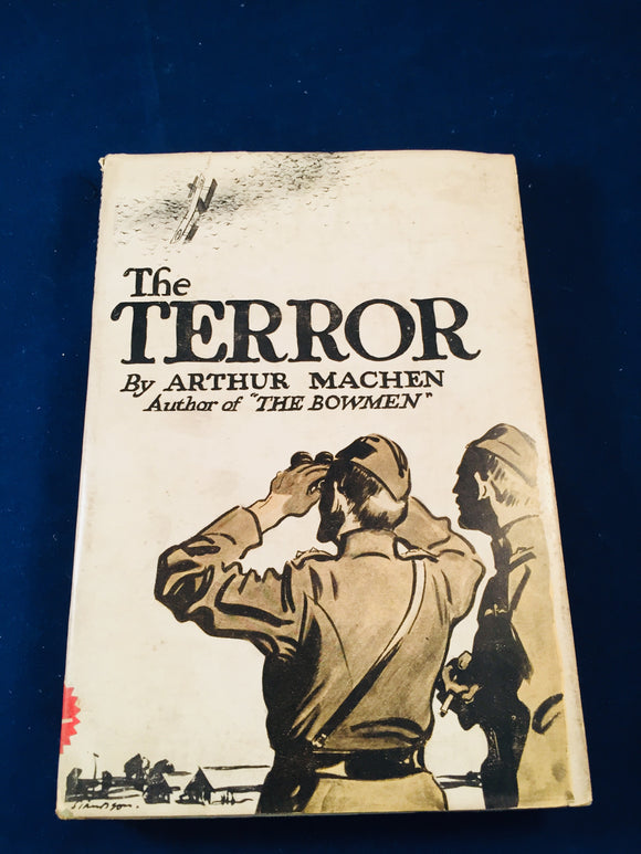 Arthur Machen - The Terror, Duckworth & Co. 1917 1st Edition