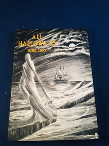 All Hallows 33 - June 2003, The Journal of the Ghost Story Society, Barbara Roden & Christopher Roden, Ash-Tree Press