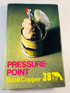 Basil Copper - Pressure-Point (38), Robert Hale 1983, 1st Edition, Inscribed & Signed