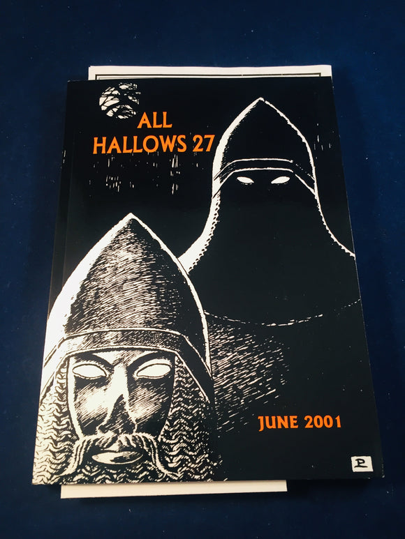 All Hallows 27 - June 2000, The Journal of the Ghost Story Society, Barbara Roden & Christopher Roden, Ash-Tree Press