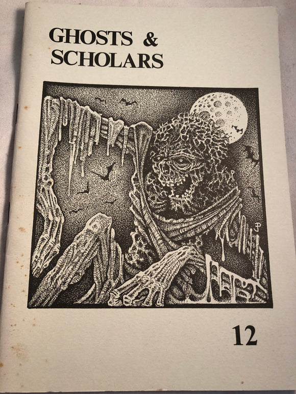 Ghosts & Scholars - Haunted Library, Rosemary Pardoe 1990, Issue 12