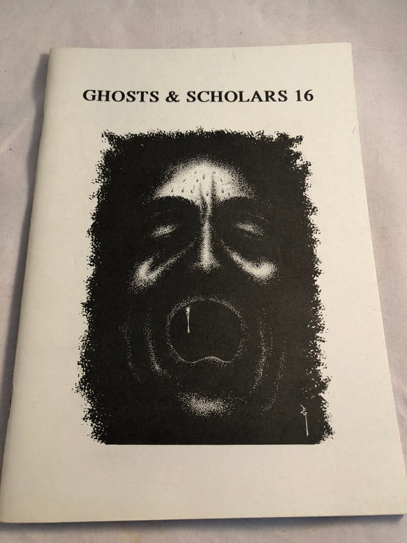 Ghosts & Scholars - Haunted Library, Rosemary Pardoe 1993, Issue 16