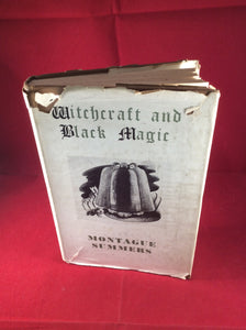 Montague Summers, Witchcraft and Black Magic, Rider & Co.Second Impression. Reprint 1953