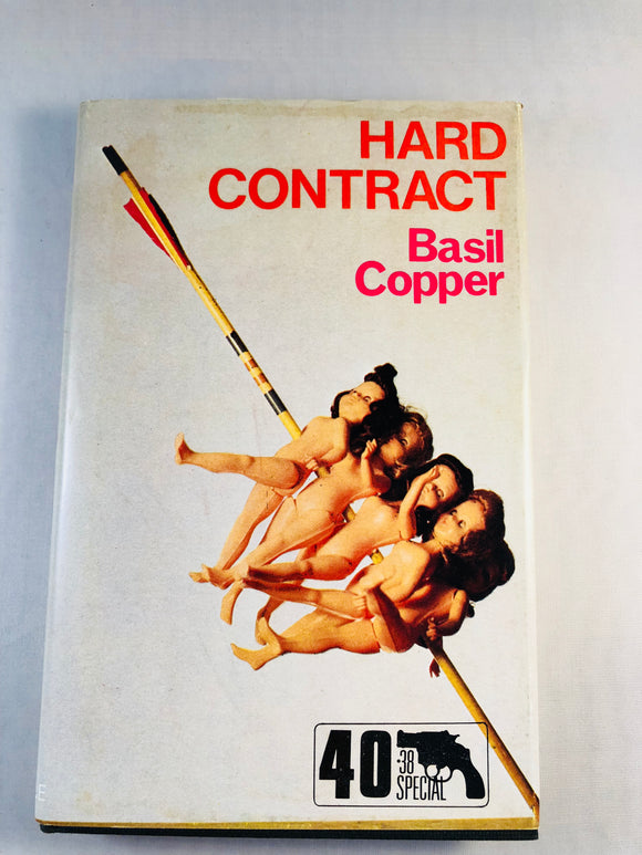 Basil Copper - Hard Contract (40), Robert Hale 1984, 1st Edition, Inscribed & Signed