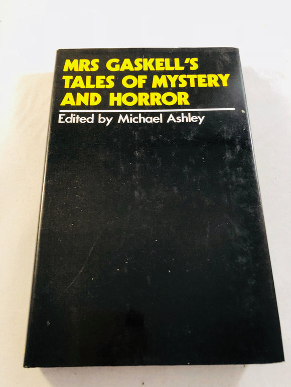 Michael Ashley-Mrs.Gaskell's Tales of Mystery And Horror, 1978, Thomas Ligotti, US 1st
