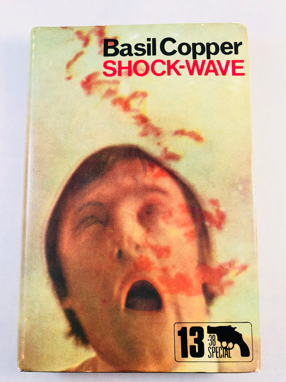 Basil Copper - Shockwave (13), Robert Hale 1973, 1st Edition, Inscribed