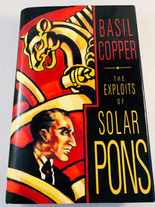 Basil Copper-The Exploits of Solar Pons, 1993, 1st, Signed, Inscribed, Photo's, Letters