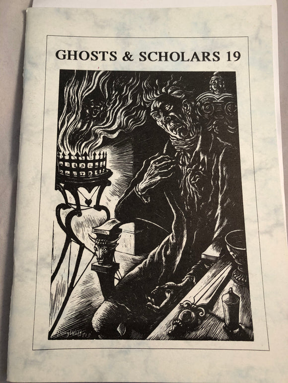 Ghosts & Scholars - Haunted Library, Rosemary Pardoe 1995, Issue 19