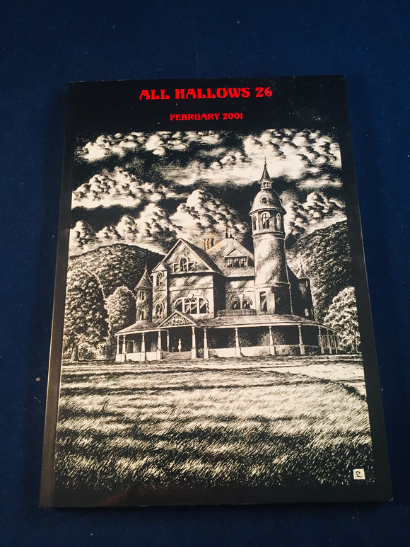 All Hallows 26 - Feb 2001, The Journal of the Ghost Story Society, Barbara Roden & Christopher Roden, Ash-Tree Press