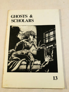 Ghosts & Scholars - Haunted Library, Rosemary Pardoe 1991, Issue 13