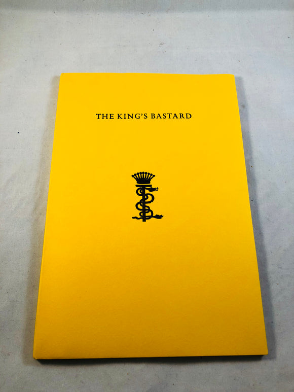 Stanislaus Eric Stenbock - The King's Bastard, Durtro Press, 2004, Inscribed to Richard Dalby by David Tibet, Limited to 200 Copies, with letters.