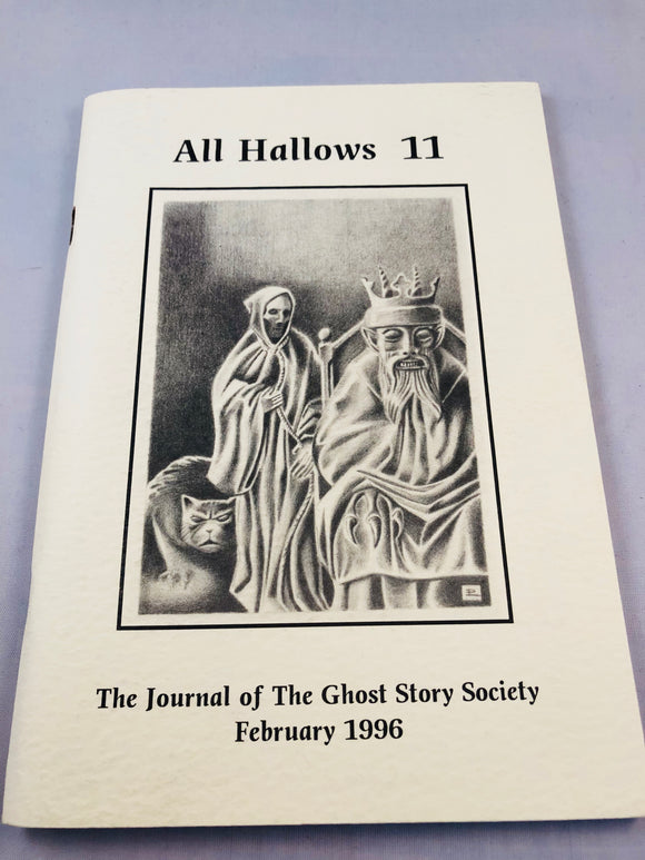 All Hallows 11 - Feb 1996, The Journal of the Ghost Story Society, Barbara Roden & Christopher Roden, Ash-Tree Press
