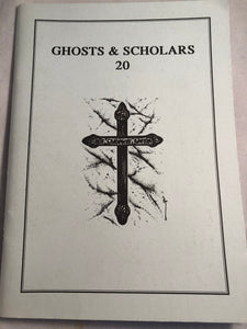Ghosts & Scholars - Haunted Library, Rosemary Pardoe 1995, Issue 20