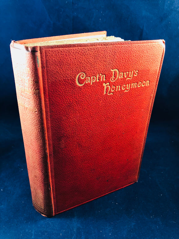 Hall Cain - Captain Davy's Honeymoon, William Heinemann 1893, To Bram Stoker, 1st Edition