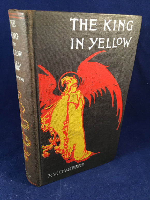 Robert W. Chambers - The King In Yellow, Tennyson Neely, New York (Copyright 1895)