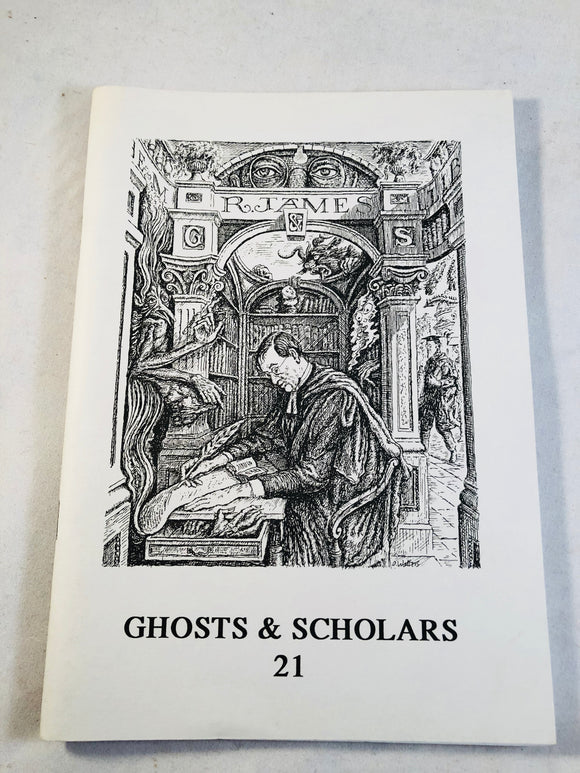 Ghosts & Scholars - Haunted Library, Rosemary Pardoe  Issue 21