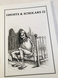 Ghosts & Scholars - Haunted Library, Rosemary Pardoe  1996, Issue 22