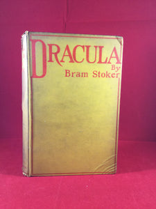 Bram Stoker - Dracula, Archibald Constable and Company 1897, 1st Issue of the 1st Edition