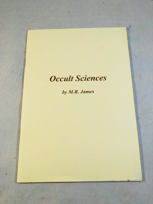 M. R. James - Occult Sciences, Haunted Library, Rosemary Pardoe 2004