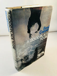 Basil Copper - A Good Place to Die (20), Robert Hale 1975, 1st Edition, Inscribed