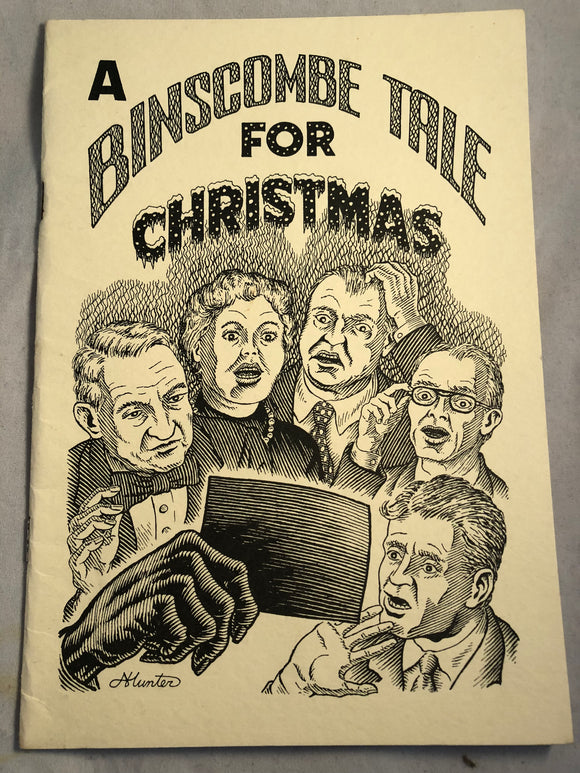 A Binscombe Tale for Christmas by John Whitbourne - Haunted Library, Rosemary Parode 1994
