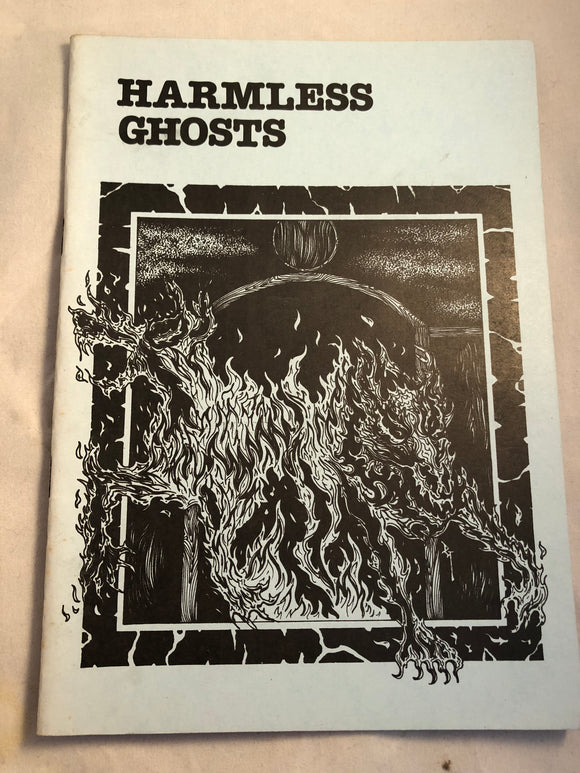 Harmless Ghosts - Haunted Library, Jessica Amanda Salmonson, Rosemary Pardoe 1990