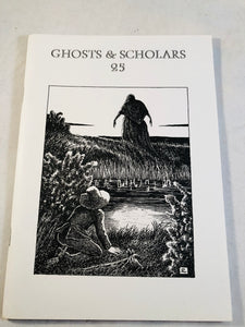 Ghosts & Scholars - Haunted Library, Rosemary Pardoe  1997,  Issue 25