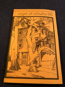 Crypt of Cthulhu - A Pulp Thriller and Theological Journal, Volume 13, Number 2, Eastertide 1994, Robert M. Price, S. T. Joshi & Will Murray